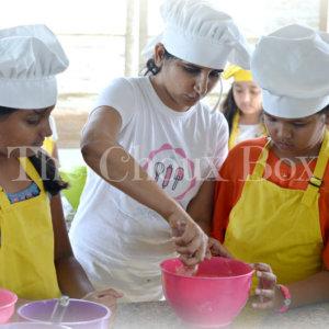 Baking Activity at The Choux Box