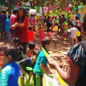 Kids Holi Party
