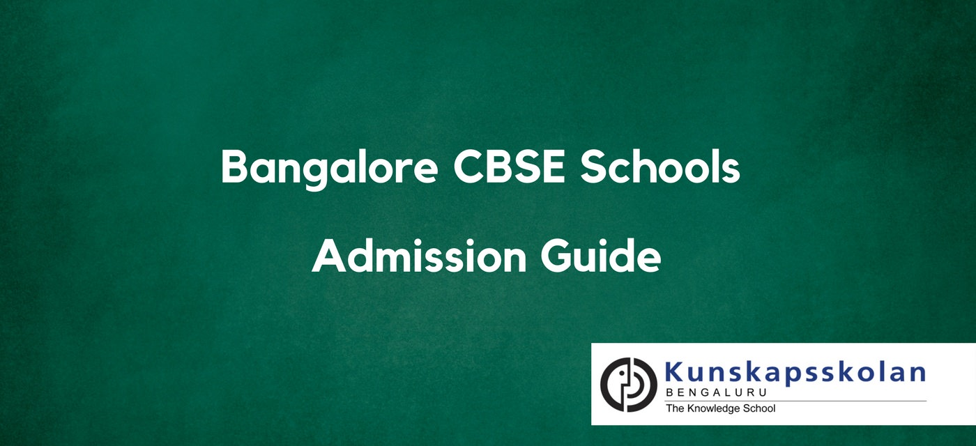Admission Guides to the Top 10 CBSE Schools – 2018-19 Cover Image