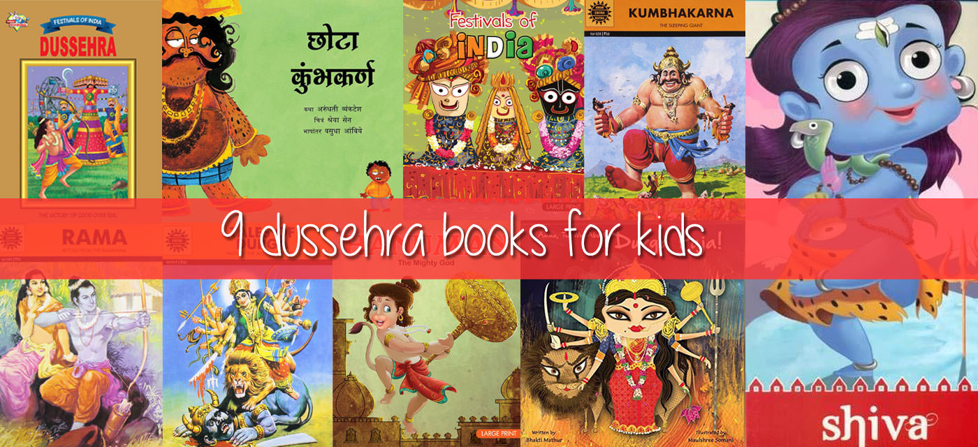 9 Dussehra books for kids that will delight them Cover Image