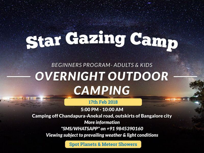 Star Gazing Camp Cover Image