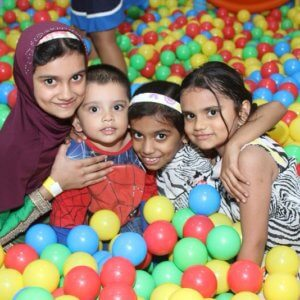 Kids in the Ball Pool at Kydzadda