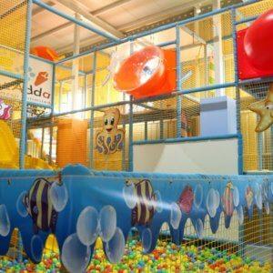 Soft Play area at Kydzadda Bannerghatta