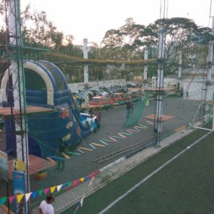 Outdoor Play space at Playgym Marathahalli