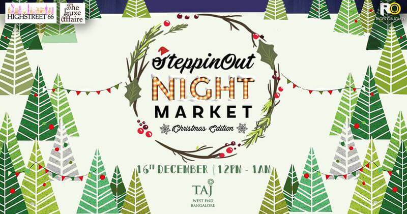 SteppinOut Christmas Night Market Cover Image