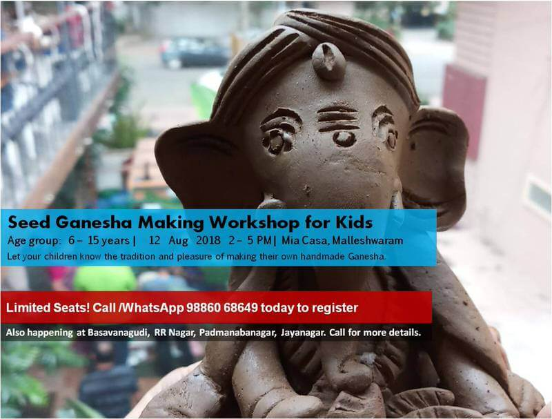 Seed Ganesha Making Workshop for Kids Cover Image
