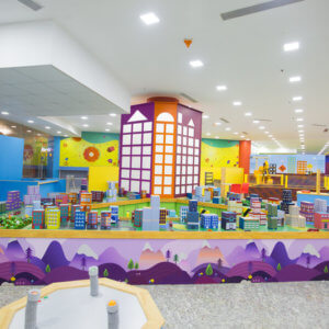 Building Station at Girias Children's Explorium