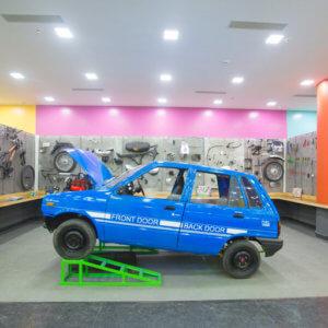 Mechanics at Girias Children's Explorium