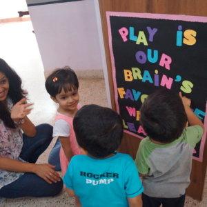 Learning at Kidstreet Preschool