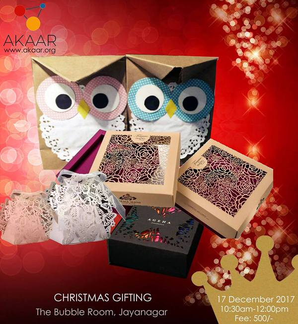 Christmas Gift Packaging Workshop Cover Image