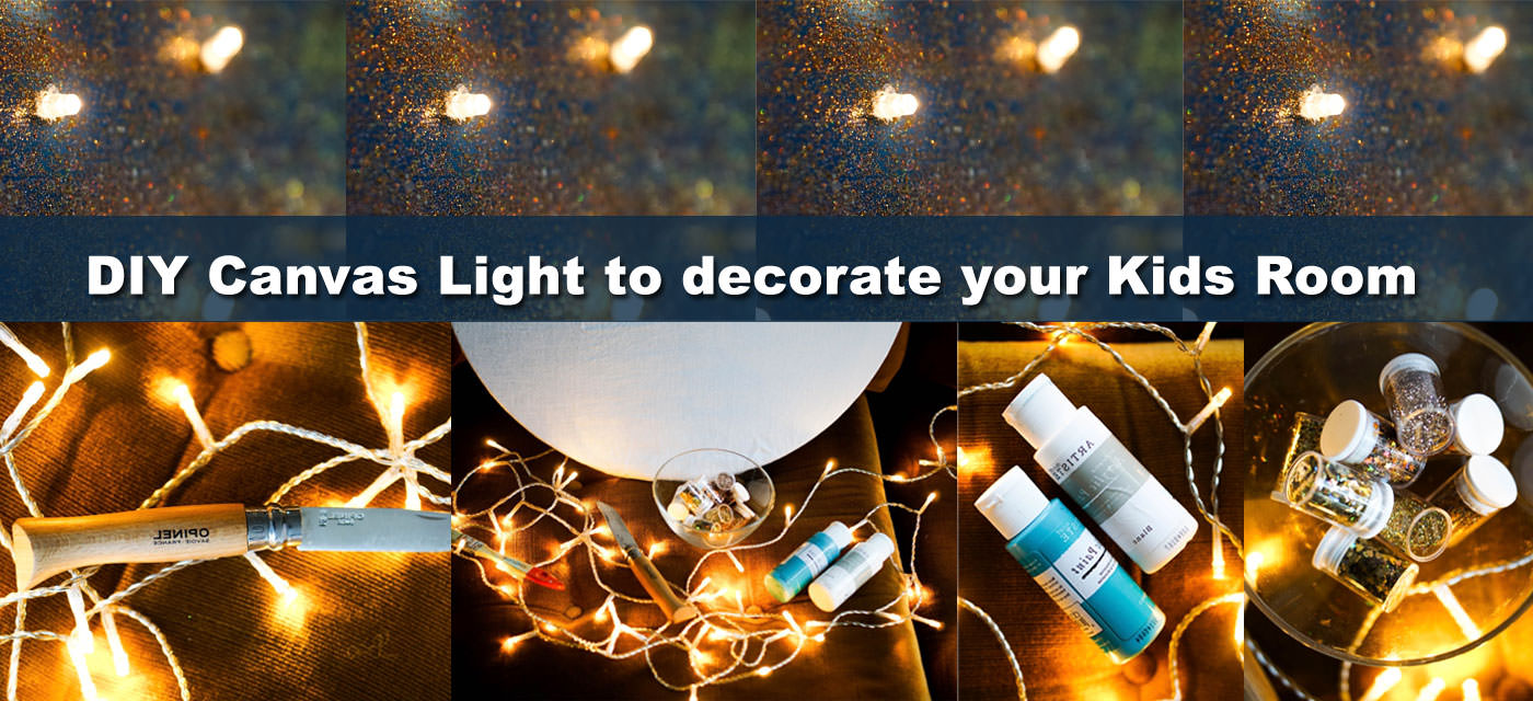 DIY Canvas Light: An easy step-by-step tutorial Cover Image
