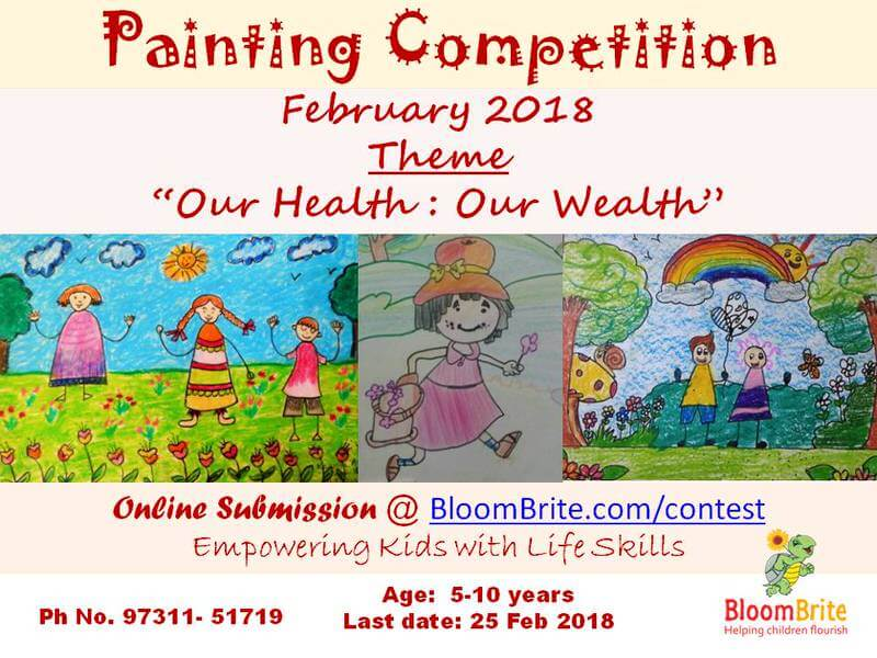 Online Painting Competition, BloomBrite, Bangalore