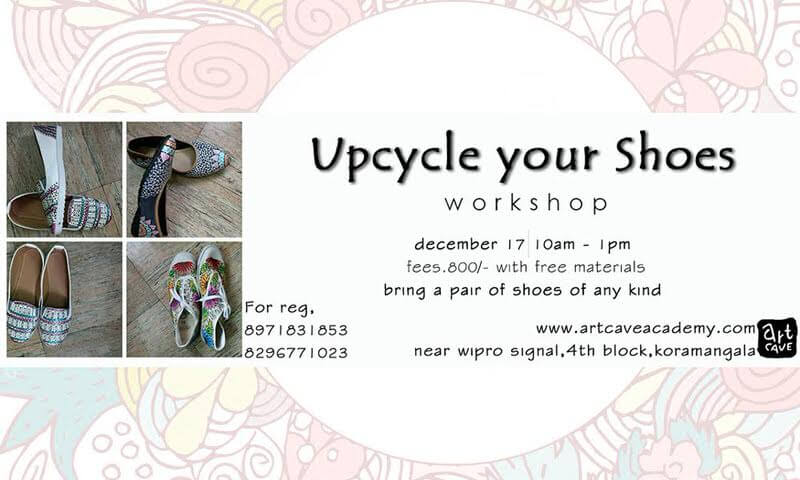 Upscale Your Shoes Workshop Cover Image