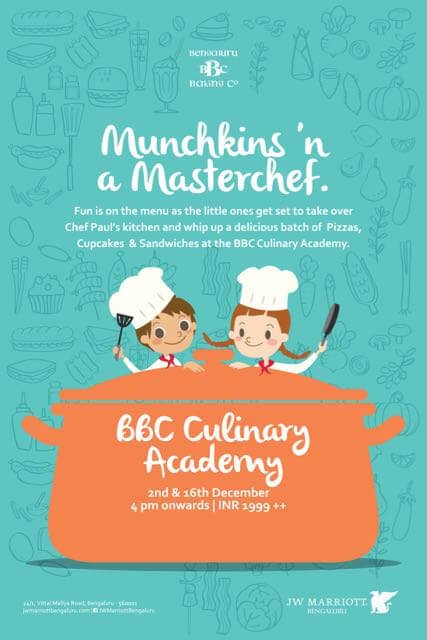 Munchkins & Masterchef Baking Workshop Cover Image