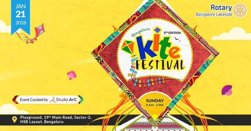 Bengaluru Kite Festival 2018 Cover Image