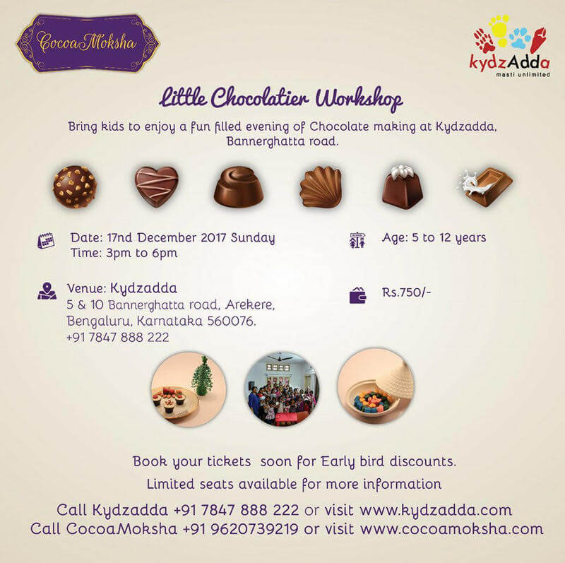 Little Chocolatier Workshop Cover Image
