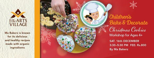 Children's Bake & Decorate Christmas Cookies Cover Image
