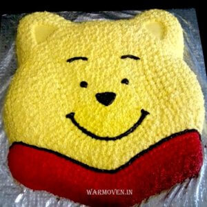 Wine The Pooh Butter Cream Cake
