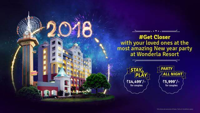 New Year Party At Wonderla Cover Image