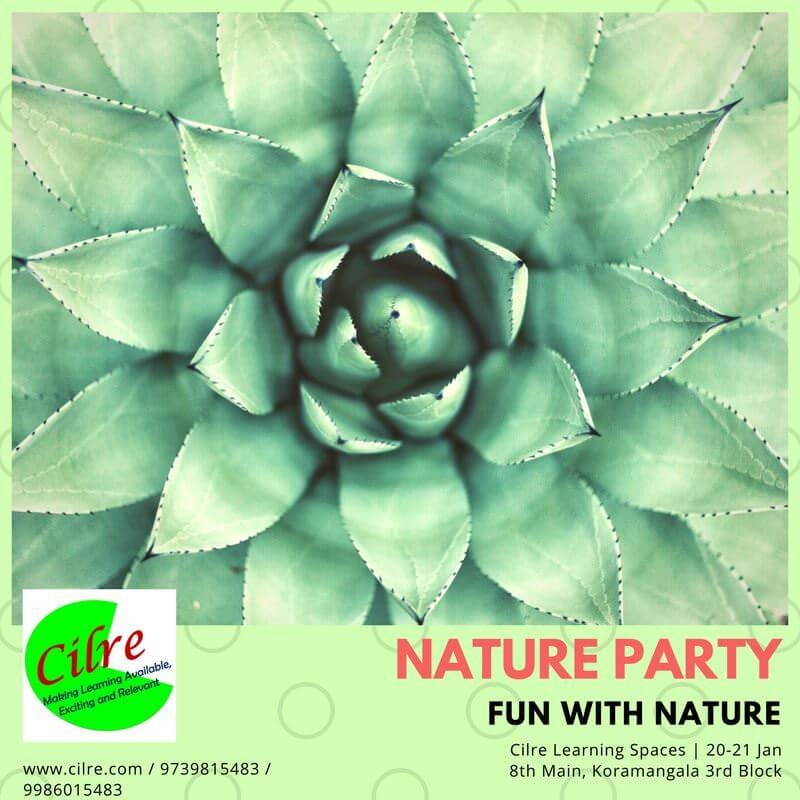 Nature Party Cover Image