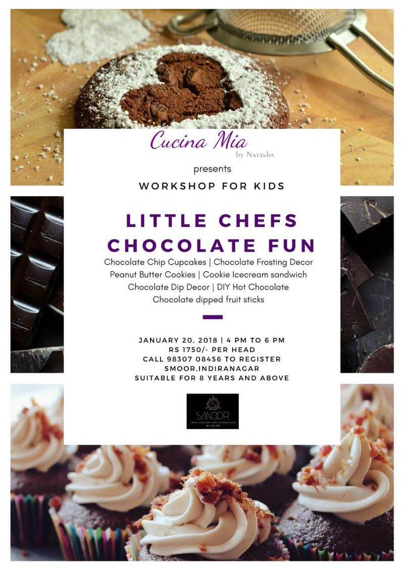 Little Chefs Chocolate Fun Cover Image