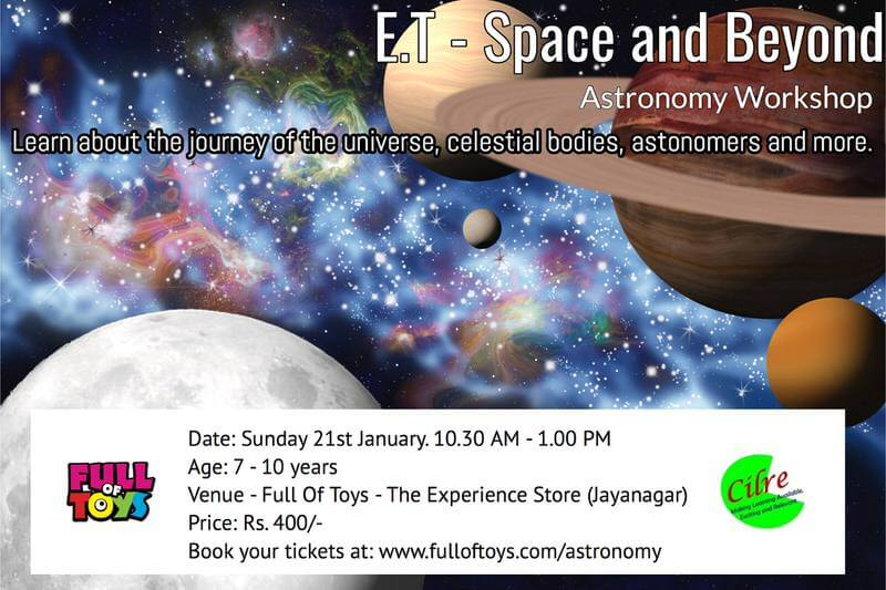 ET Space & Beyond – Astronomy Workshop Cover Image