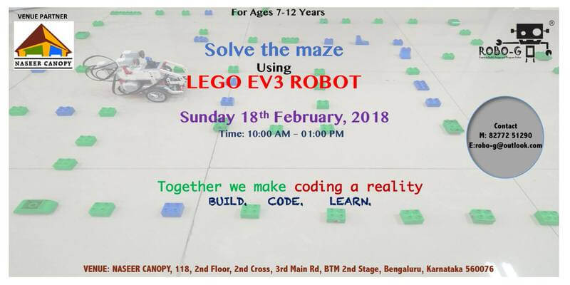 Solve the Maze using LEGO EV3 Robot Cover Image