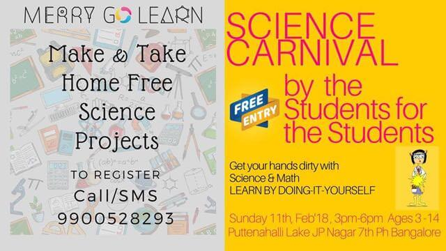 Science carnival putenhalli lake jp nagar 7th phase bangalore about science carnival solutioingenieria Image collections