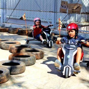Dirt Bike for kids at Play Factory