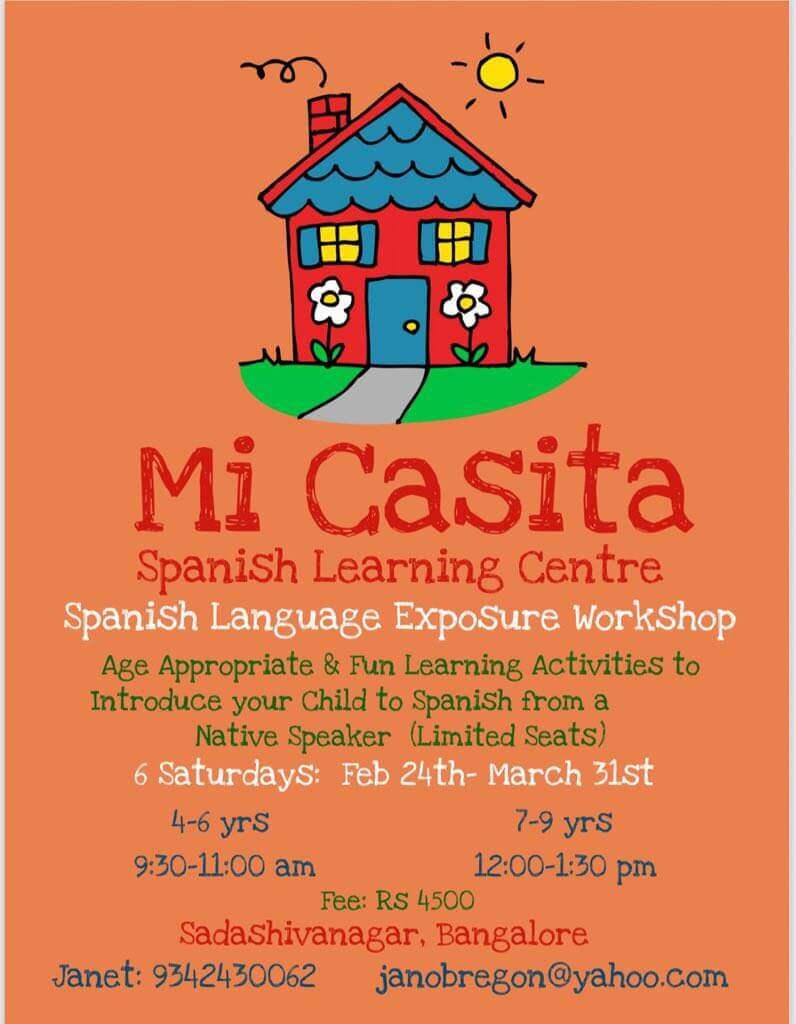 Spanish Language Exposure Workshop Cover Image