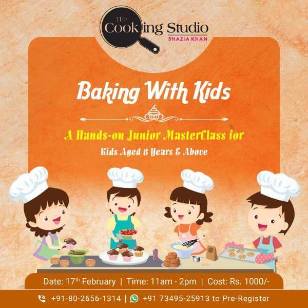 Baking With Kids Cover Image