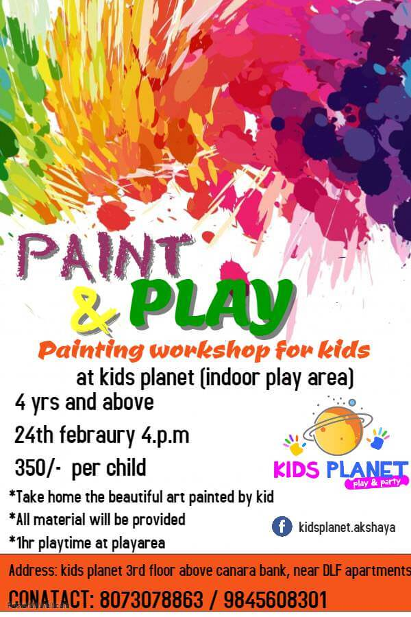 Paint & Play Cover Image