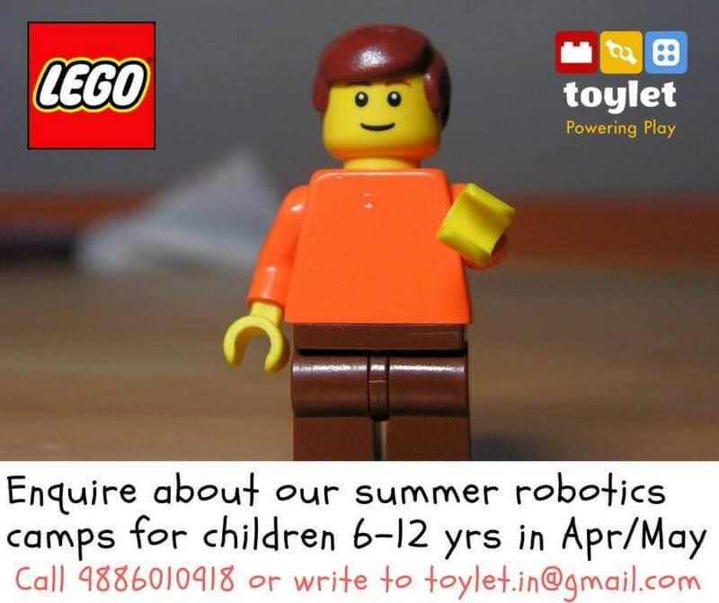 ToyLet LEGO WeDo Robotics Workshops Cover Image