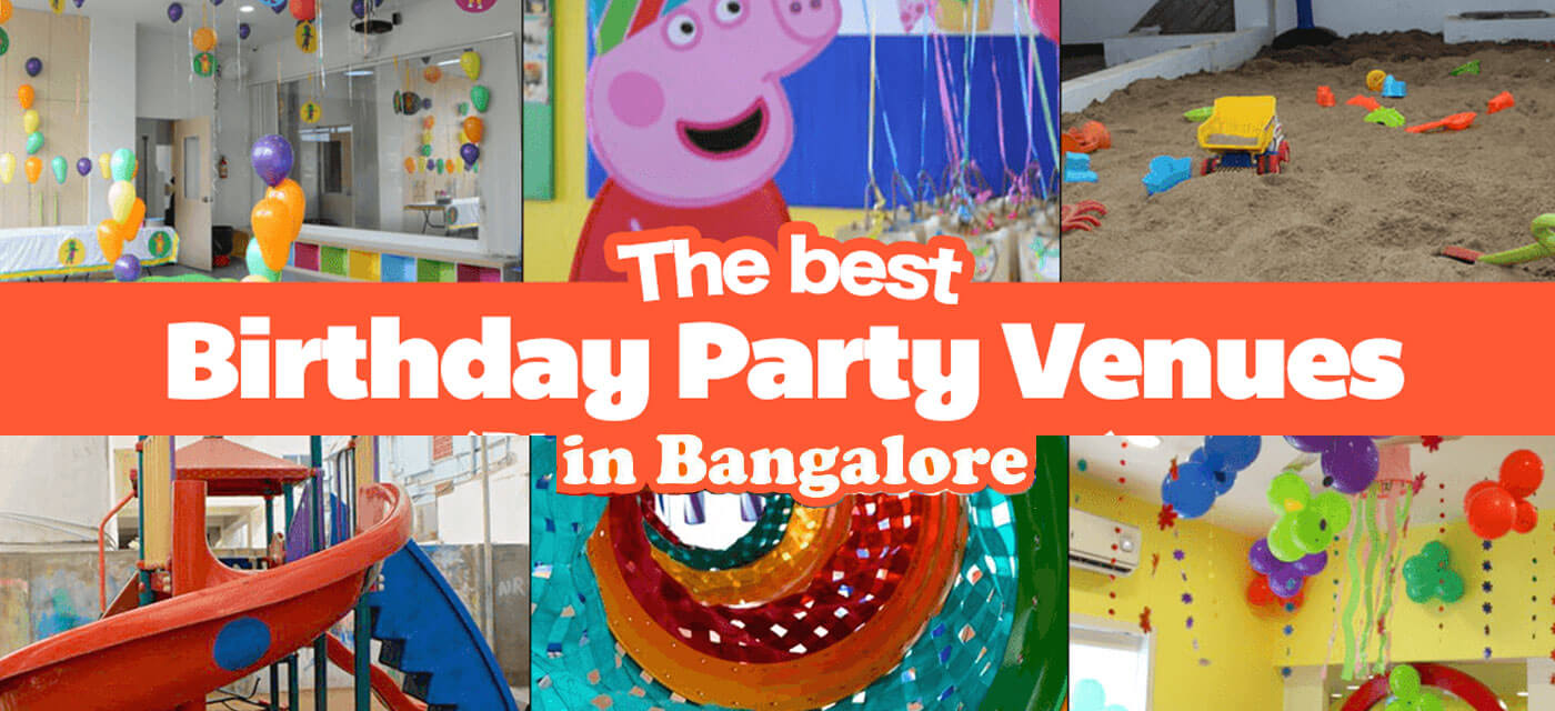Best Kids Indoor and Outdoor Birthday Party Venues in Bangalore Cover Image