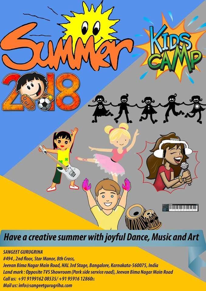 Music, Dance & Art Creative Summer Camp Cover Image