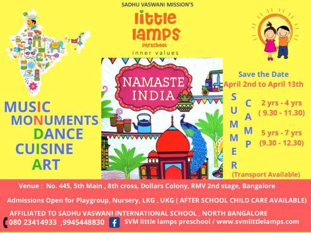 Namaste India Cover Image