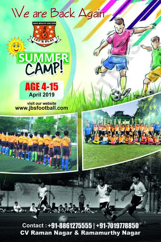 JBS Football Summer Camp 2019 Cover Image