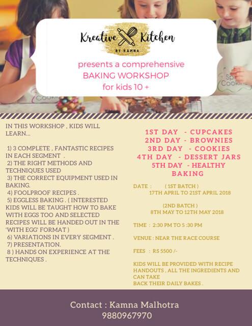 Kids Kan Kook Baking Workshop Cover Image