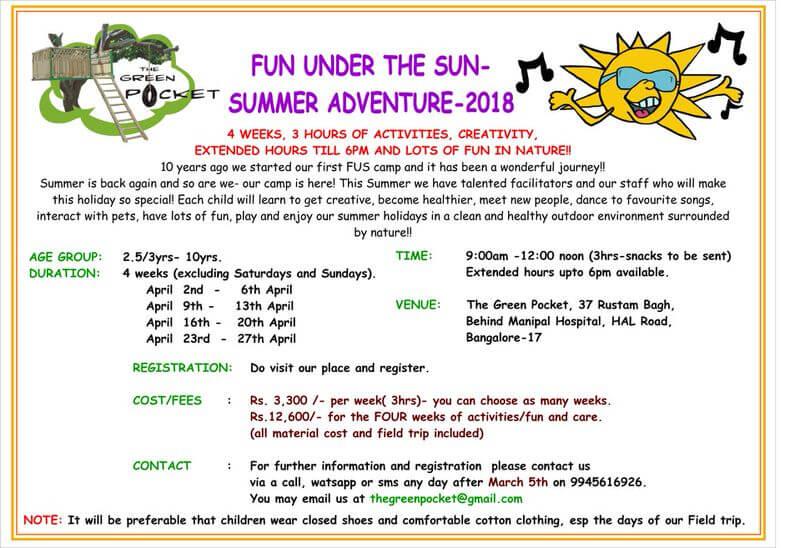 Fun Under The Sun Summer Adventure 2018 Cover Image