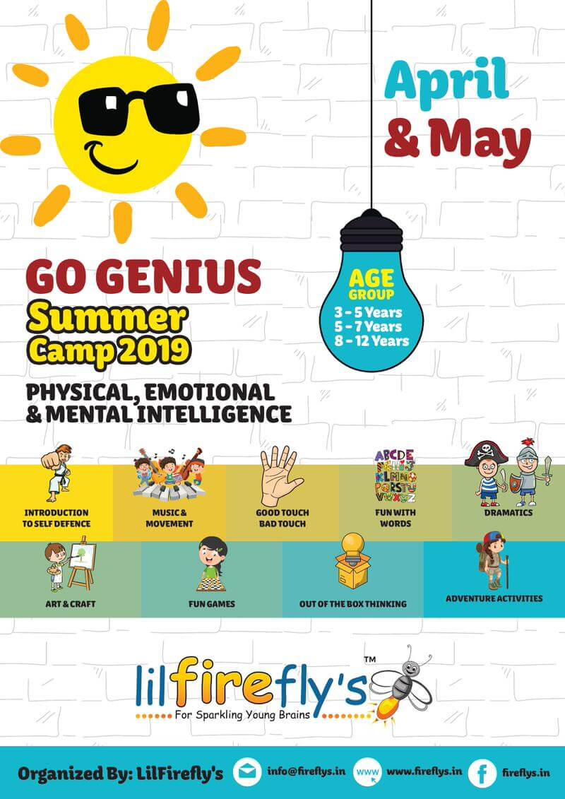 lil Firefly's Go Genius Summer Camp 2019 Cover Image