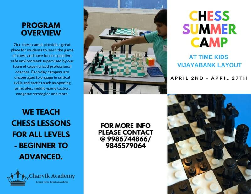 Chess Summer Camp Cover Image