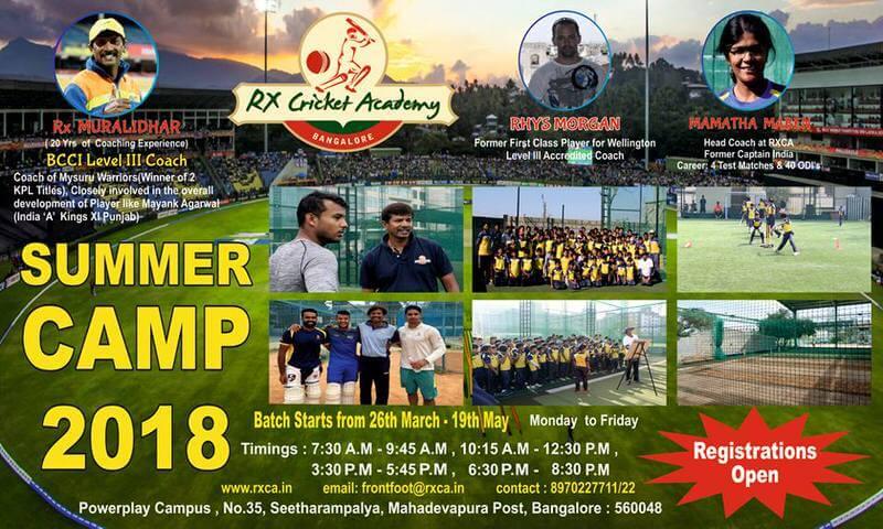 RXCA SummerCricketCamp Cover Image