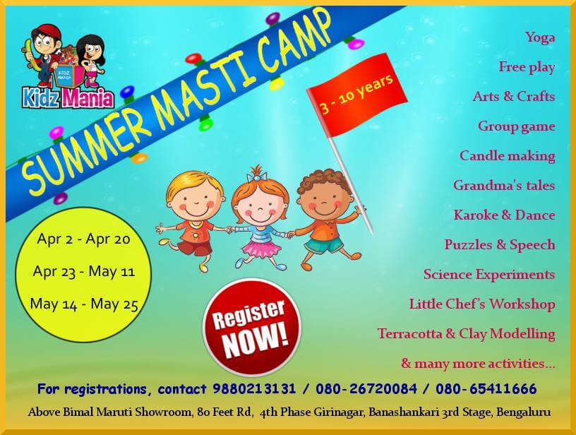 Kidz Mania Summer Masti Camp Cover Image