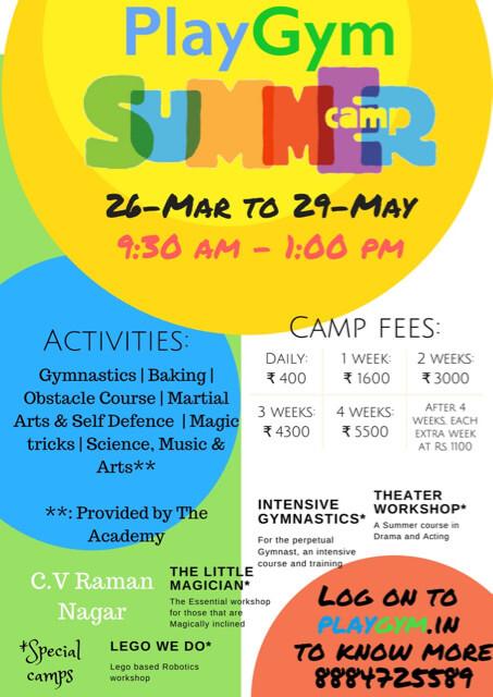 PlayGym of C.V Raman Nagar Summer Camp Cover Image