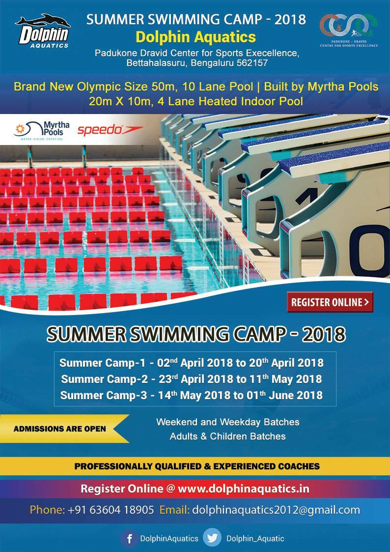 Swimming Summer Camp 2018 Cover Image