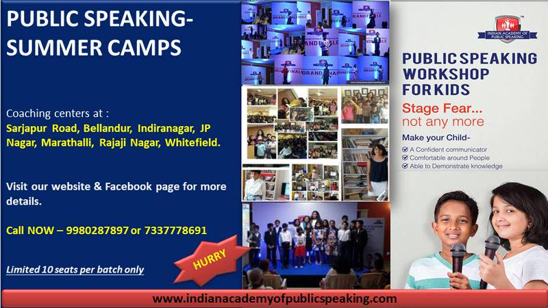 Public Speaking Summer Camps for Kids Cover Image