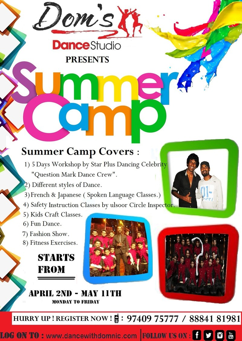 Dom's Dance Studio Summer Camp Cover Image