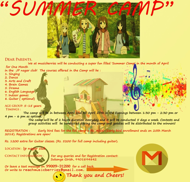 Master of all Summer camps by Musicberries Cover Image