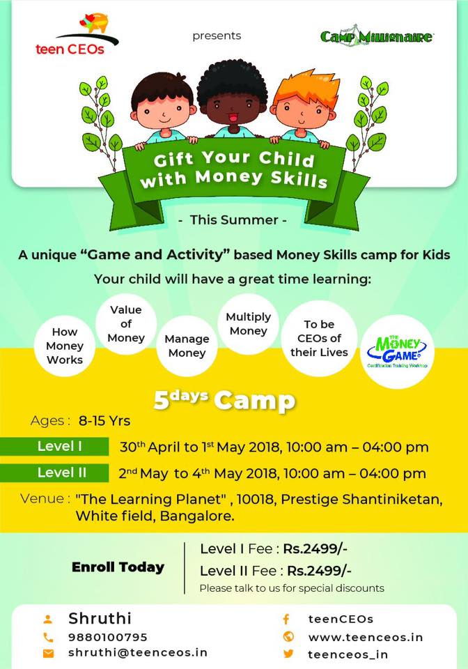 Money Skills Camp for Kids Cover Image