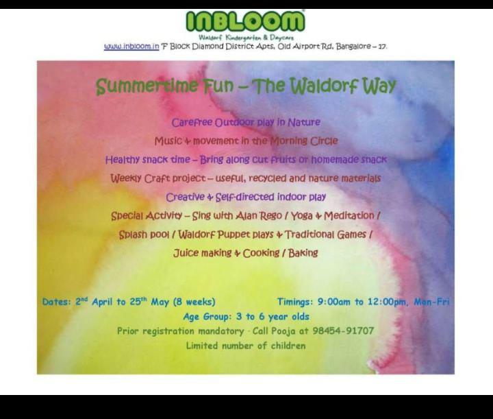 Summertime Fun – The Waldrof Way Cover Image